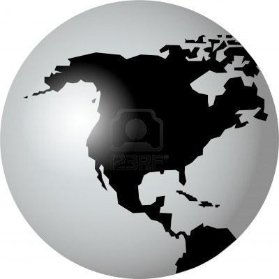 Un mondo in bianco e nero digitalink for Mappa mondo bianco e nero